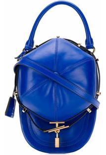 Moschino Boné Com Logo - Azul