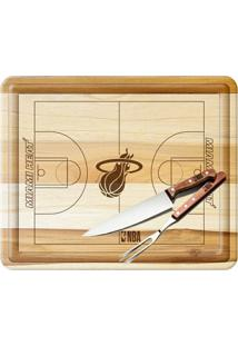 Kit Churrasco Nba Miami Heat - Unissex
