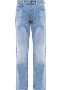 Calça Masculina 3301 Tapered - Azul