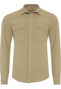 Camisa Masculina Utilitária - Verde
