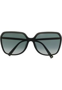 Givenchy Eyewear Óculos De Sol Quadrado Gv - Preto
