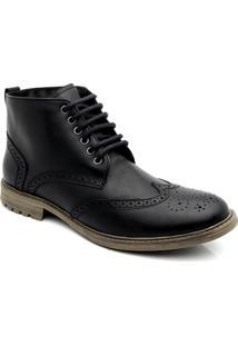 Bota Estilo Oxford 9155 Keep Shoes - Masculino