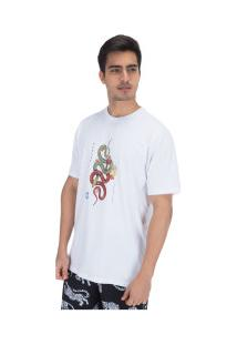 Camiseta Hurley Silk Tred Light - Masculina - Branco