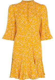 Bytimo Vestido Sunshine Com Estampa Floral - Amarelo