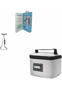Kit Com Mini Bolsa Térmica Fitness - Dagg - Unissex