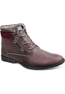 Bota Dress Boot Masculina Sandro Republic Strike Vinho