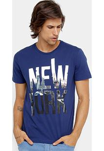 Camiseta Burn New York Masculina - Masculino