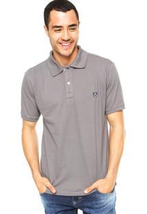 Camisa Polo Mr. Kitsch Vauvert Cinza
