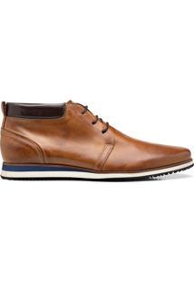 Ankle Boot ÉLie Bota Al-Nabek Caramelo - Caf㩠- Masculino - Dafiti