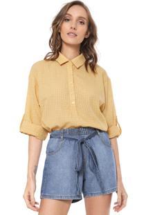 Camisa Nem Mari Amarela