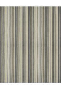 Tapete Metrópole Moderno Retangular Rústico (150X200 Cm) Cinza