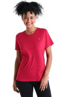Camiseta Líquido Basic Energy Ii Feminina - Feminino-Rosa
