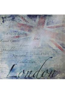 Quadro Decorativo London 50Cmx50Cm