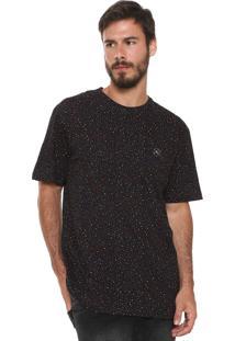 Camiseta ...Lost Ryb Dots Preta