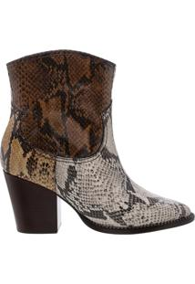Bota Western Mix Animal Print | Schutz