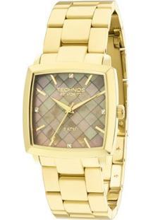Relógio Feminino Michael Kors Analogico - Unissex-Dourado