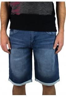 Bermuda Jeans Moletom Gangster 17.01.1841