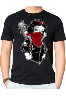 Camiseta Not So White Geek10 - Preto