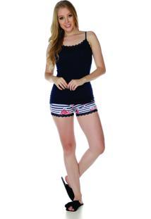 Pijama Sonno Vinci 87042 Azul-Marinho