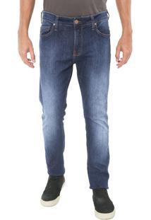 Calça Jeans Colcci Skinny Estonada Azul