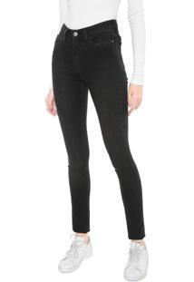 Calça Sarja Calvin Klein Jeans Skinny Básica Preta