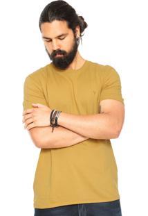 Camiseta Vr Slim Amarela