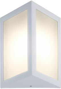 Arandela Triangular Branco Casah