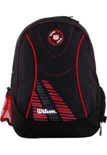 Mochila Wilson Wtix12255A Preta E Vermelha