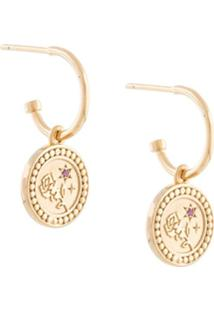 Meadowlark Par De Brincos Amulet Love - Dourado