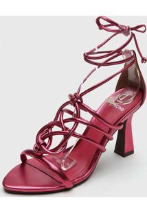 Sandália Dumond Amarração Rosa