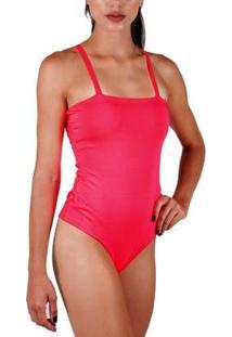 Body Neon Com Bojo Verão Total - Feminino-Pink