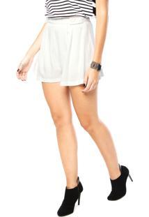 4a811fa2f64dd Short Branco Sommer feminino   Shoelover