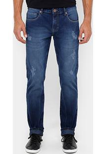 Calça Jeans Forum Greg Indigo Bord Masculina - Masculino