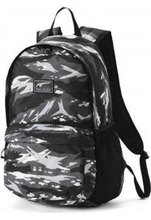 Mochila Puma Academy Backpack - Unissex-Preto
