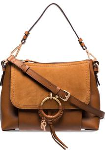 See By Chloé Small Joan Crossbody Bag - Marrom