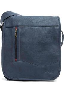 Bolsa Carteiro Azul Marinho - Azul Marinho/Un