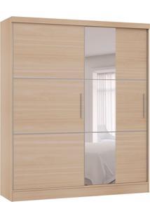 Guarda-Roupa Casal Com Espelho Classic Flex 2 Pt 2 Gv Nogueira