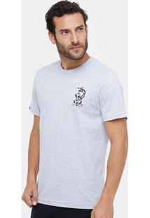 Camiseta Rusty Silk Skullanchor Masculina - Masculino