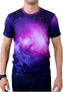 Camiseta Galaxy Print Estampada