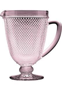 Jarra Ornamental De Vidro Sodo-Calcico Bico De Jaca Transparente 1 L - Unissex