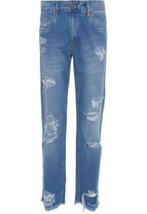 Calça Masculina Jeans Skinny - Azul