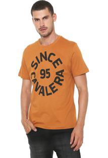 Camiseta Cavalera Since 95 Caramelo