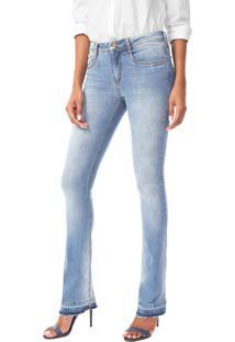 Calça Jeans Lança Perfume Bootcut Selene Azul