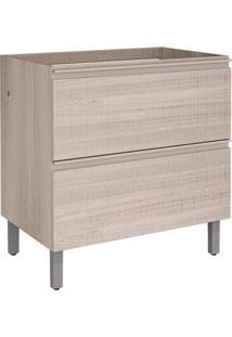 Balcão Para Cozinha Belíssima Plus 1 Pt 1 Gv Saara Wood E Saara Wood Cetim 80 Cm