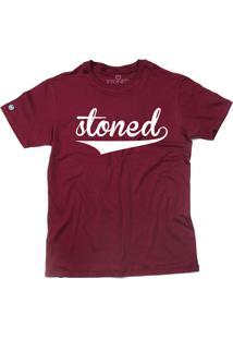 Camiseta Stoned Classic Bordô