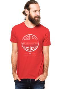 Camiseta Rgx Long Life Vermelha