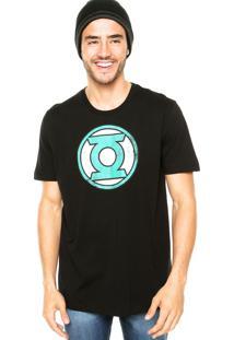 Camiseta Fashion Comics Green Lantern Preta