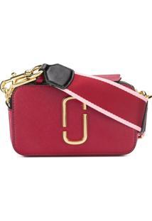 b2b8526ad82d7 R  2609,00. Farfetch Bolsa Transversal Feminina Vermelha Couro Proa Marc  Jacobs ...