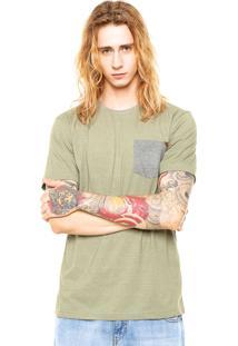 Camiseta Mcd Pocket Verde
