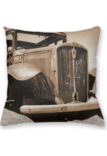 Capa De Almofada Decorativa Own Carro Antigo 45X45 - Somente Capa